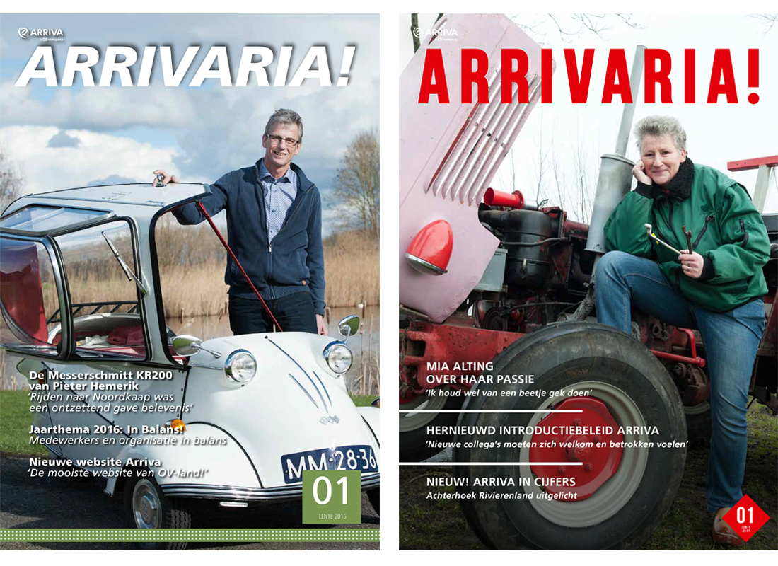 Arrivaria in opdracht van New Publishers