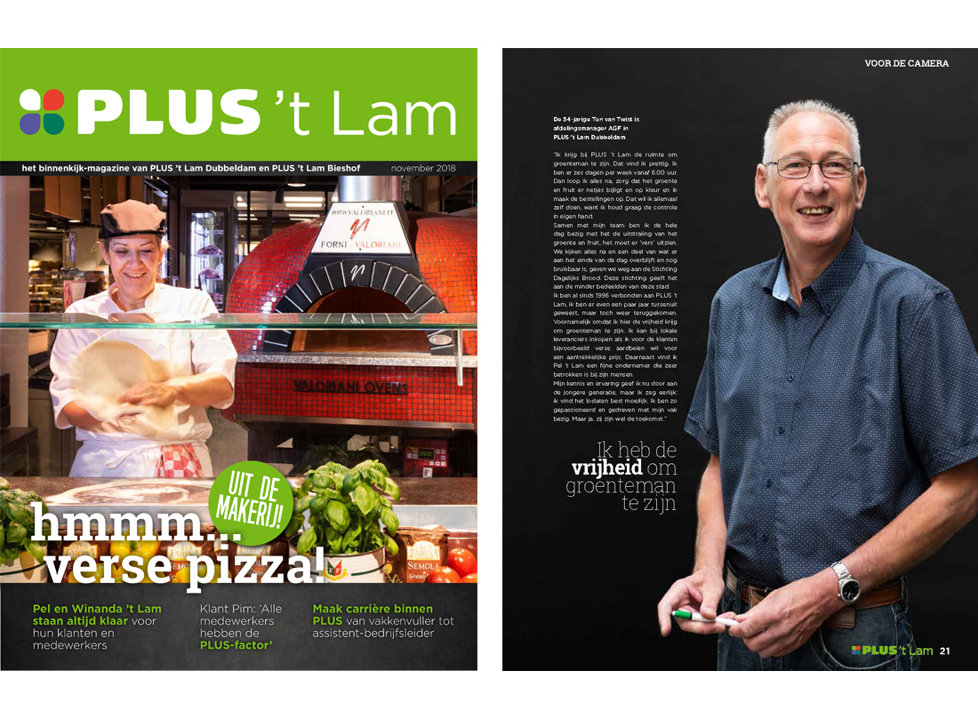 Supermarkt Plus 't Lam - Corporate Magazine