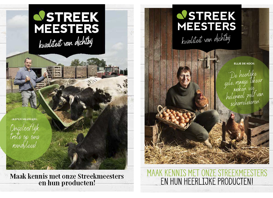Streekmeesters - diverse PLUS supermarkten
